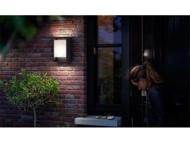 Philips ARBOUR Applique LED 1x7W/600lm Anthracite
