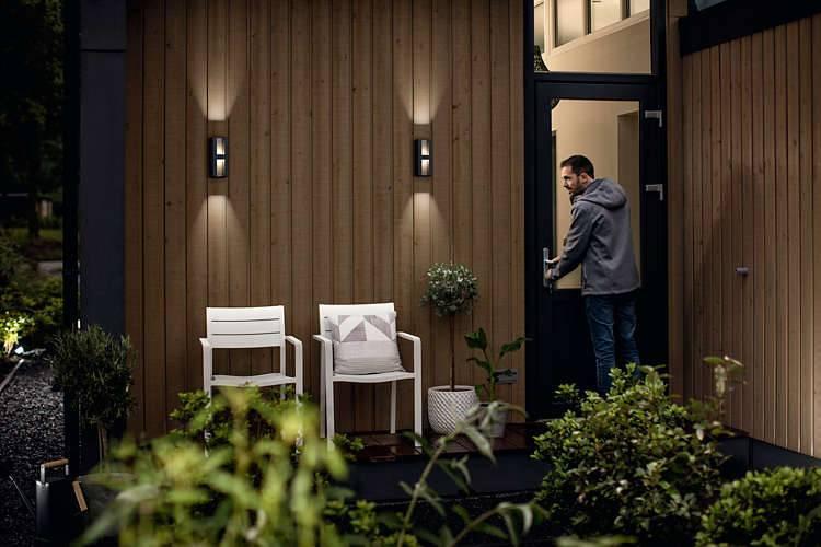 Philips SHADOW Wandlamp 2x5W Antraciet