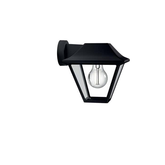 Philips ALPENGLOW Wandlamp 1x Zwart