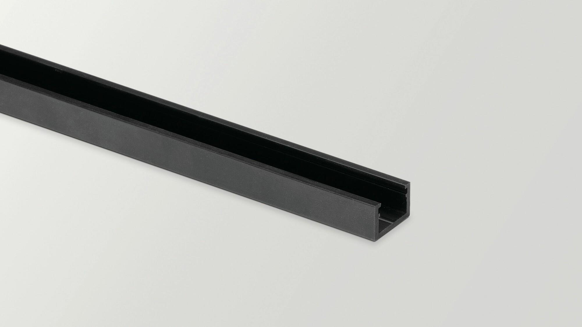Minimal track 24V 2m Zwart