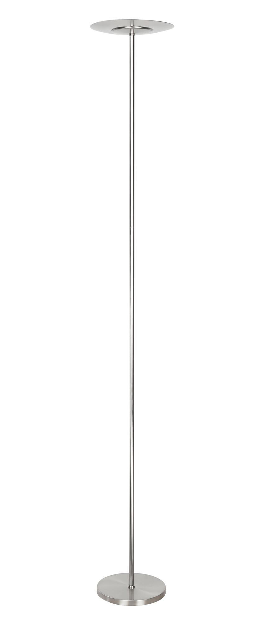 OSAKA Vloerlamp LED 1x24W/1800lm Zilver