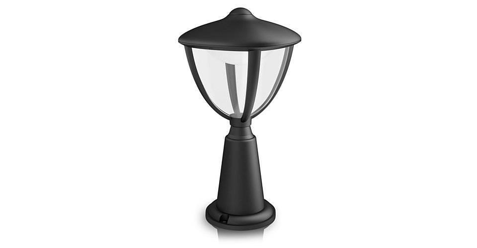 Philips ROBIN Tuinpaal LED 1x6W/430lm Zwart