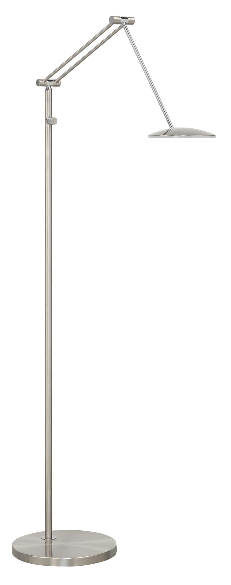SAPPORO Lampadaire LED 1x10W/700lm Argent