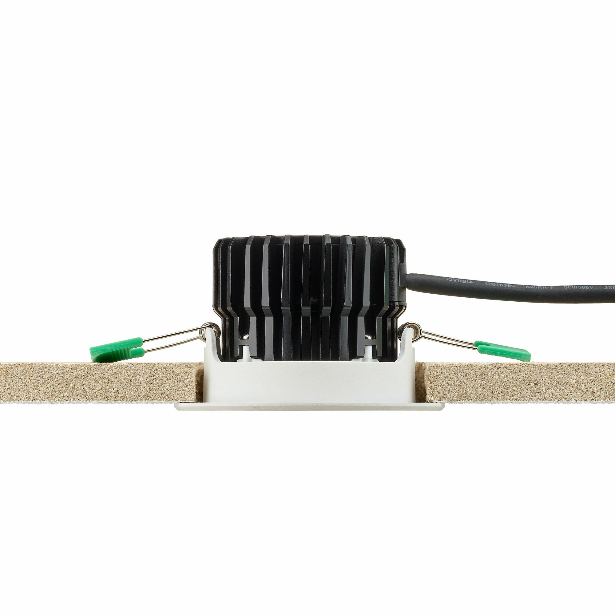 Philips CORELINE Inbouwspot LED 1x8W/650lm Rond Lichtgrijs