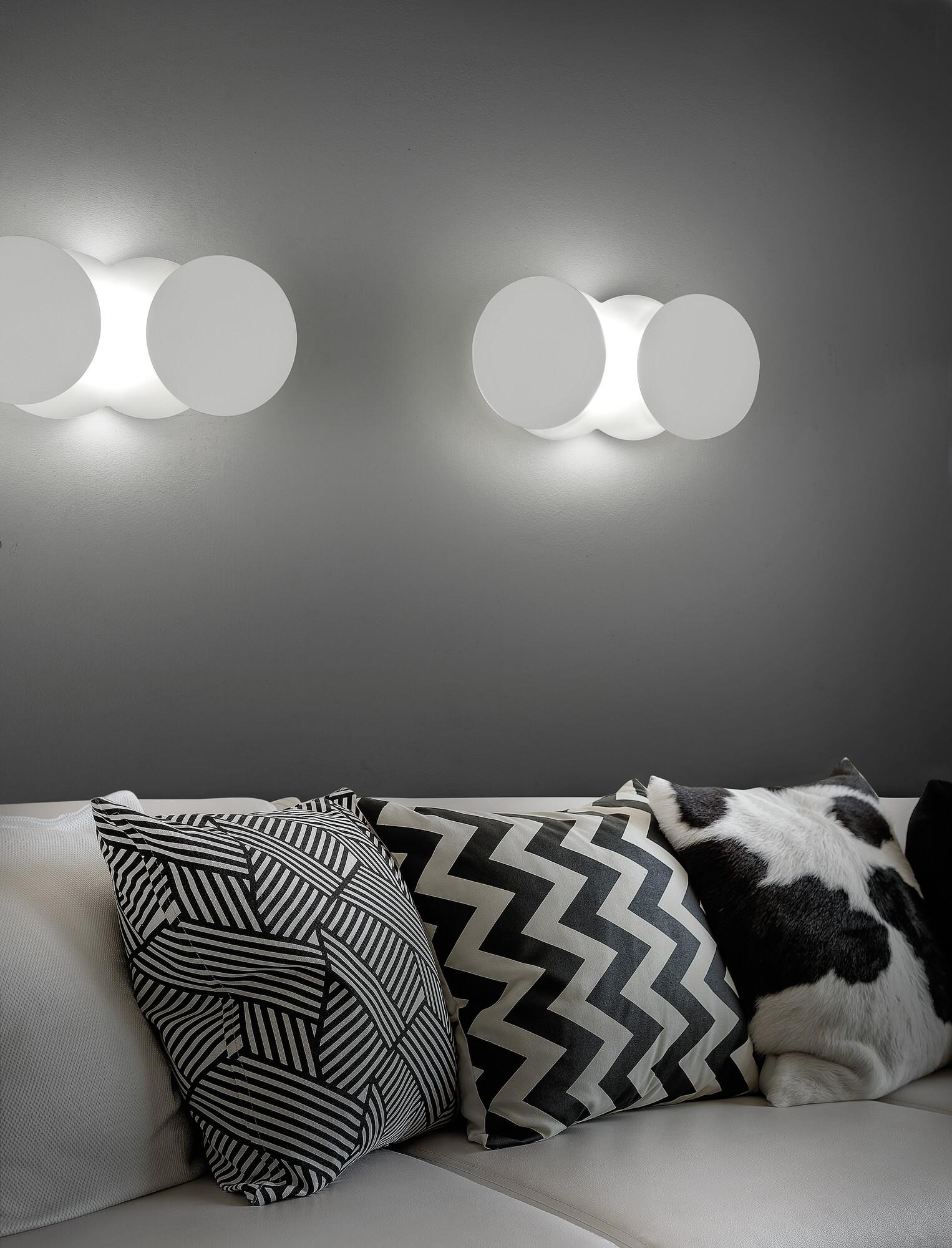 NUVOLA Wandlamp LED 1x17W/1450lm